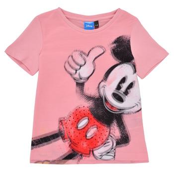 Oblečenie Dievčatá Tričká s krátkym rukávom Desigual 21SGTK43-3013 Ružová