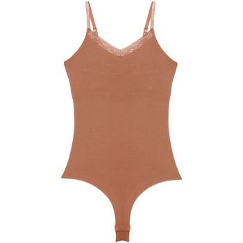 Spodná bielizeň Ženy Body Underprotection BB1019 BEA BODY TAN Béžová