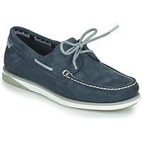Topánky Muži Námornícke mokasíny Timberland ATLANTIS BREAK BOAT SHOE Modrá