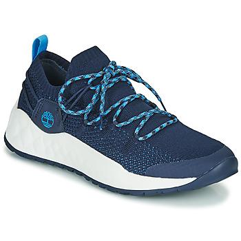 Topánky Muži Nízke tenisky Timberland SOLAR WAVE LOW KNIT Modrá