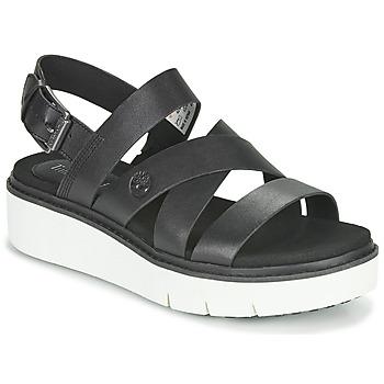 Topánky Ženy Sandále Timberland SAFARI DAWN FRONT STRAP Čierna