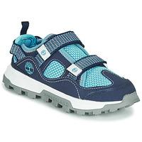 Topánky Deti Sandále Timberland TREELINE FISHERMAN Modrá