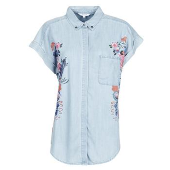 Oblečenie Ženy Košele a blúzky Desigual SULLIVAN Modrá