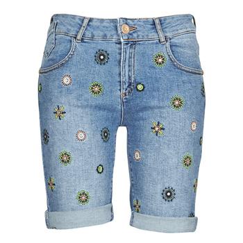 Oblečenie Ženy Šortky a bermudy Desigual GRECIA Modrá