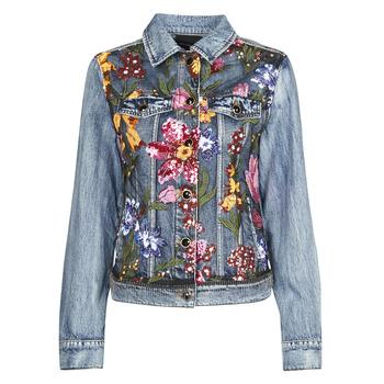 Oblečenie Ženy Džínsové bundy Desigual BALT Modrá