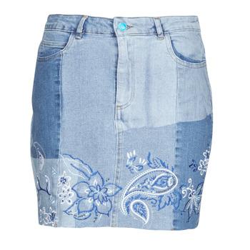 Oblečenie Ženy Sukňa Desigual BE BLUE Modrá