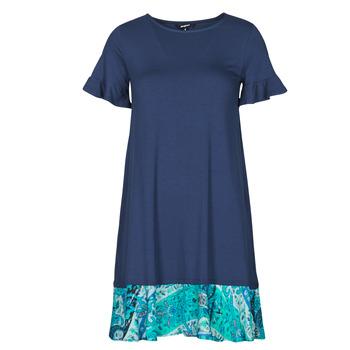 Oblečenie Ženy Krátke šaty Desigual KALI Námornícka modrá