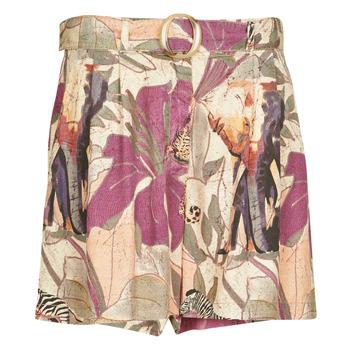 Oblečenie Ženy Šortky a bermudy Desigual ETNICAN Viacfarebná