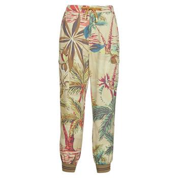 Oblečenie Ženy Padavé nohavice Desigual TOUCHE Béžová