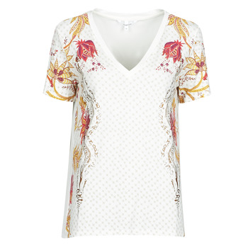 Oblečenie Ženy Tričká s krátkym rukávom Desigual PRAGA Biela