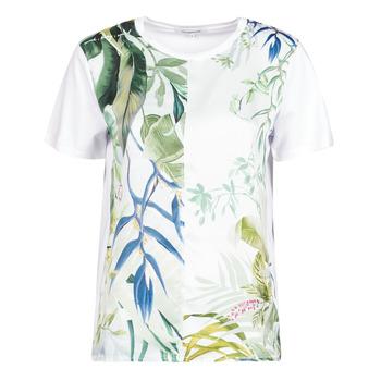 Oblečenie Ženy Tričká s krátkym rukávom Desigual BUDAPEST Biela