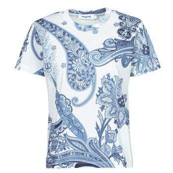 Oblečenie Ženy Tričká s krátkym rukávom Desigual POPASLEY Modrá