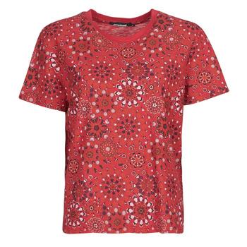 Oblečenie Ženy Tričká s krátkym rukávom Desigual LYON Červená