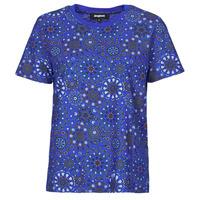 Oblečenie Ženy Tričká s krátkym rukávom Desigual LYON Námornícka modrá