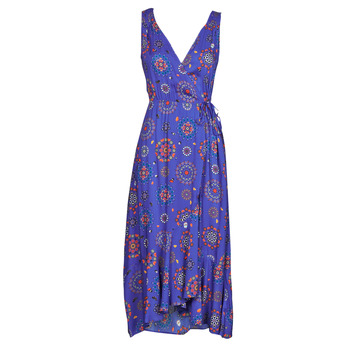Oblečenie Ženy Dlhé šaty Desigual SANTORINI Námornícka modrá