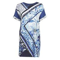 Oblečenie Ženy Krátke šaty Desigual SOLIMAR Modrá