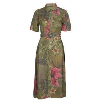 Oblečenie Ženy Dlhé šaty Desigual ANGELA Kaki