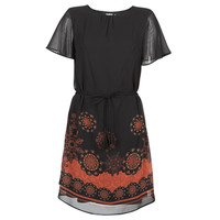 Oblečenie Ženy Krátke šaty Desigual TAMPA Čierna