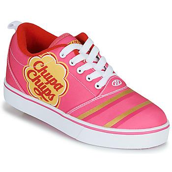 Topánky Dievčatá Kolieskové topánky Heelys CHUPA CHUPS PRO 20 Ružová / Biela