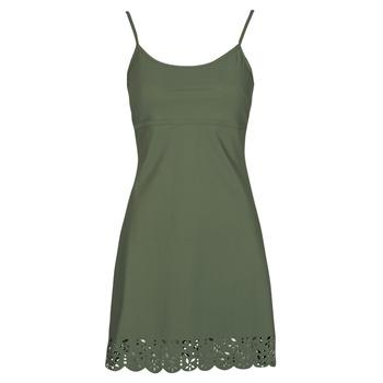 Oblečenie Ženy Krátke šaty Banana Moon ALZETTE Kaki