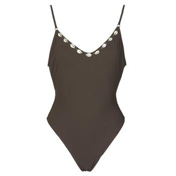 Oblečenie Ženy Plavky jednodielne Banana Moon LAUMI Hnedá