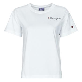 Oblečenie Ženy Tričká s krátkym rukávom Champion 113090 Biela