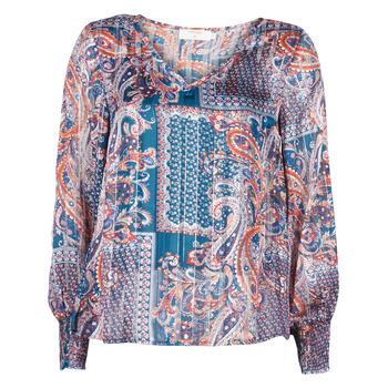 Oblečenie Ženy Blúzky Cream SHEENA BLOUSE Modrá