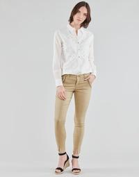 Oblečenie Ženy Nohavice päťvreckové Cream HOLLY TWILL PANT Béžová
