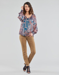 Oblečenie Ženy Nohavice päťvreckové Cream LOTTE PRINTED Béžová