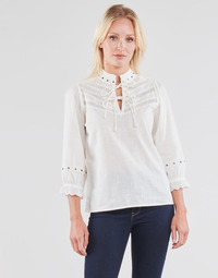 Oblečenie Ženy Blúzky Cream NITTY BLOUSE Béžová