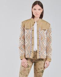 Oblečenie Ženy Bundy  Cream SOLDE JACKET Béžová