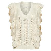 Oblečenie Ženy Svetre Cream ANNOLINA KNIT SLOPOVER Biela