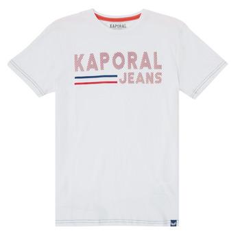 Oblečenie Chlapci Tričká s krátkym rukávom Kaporal EZIO Biela