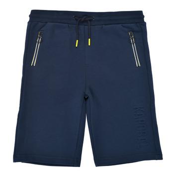 Oblečenie Chlapci Šortky a bermudy Kaporal MATYS Námornícka modrá