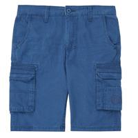 Oblečenie Chlapci Šortky a bermudy Kaporal MEDEN Modrá