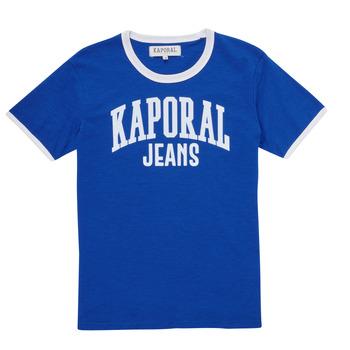 Oblečenie Chlapci Tričká s krátkym rukávom Kaporal METRO Modrá