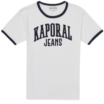 Oblečenie Chlapci Tričká s krátkym rukávom Kaporal METRO Biela