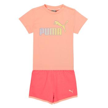 Oblečenie Dievčatá Komplety a súpravy Puma BB SET ABRI Ružová