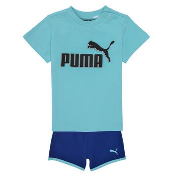Oblečenie Chlapci Komplety a súpravy Puma BB SET ANGEL Modrá