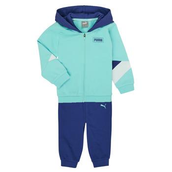 Oblečenie Chlapci Komplety a súpravy Puma BB MINICATS REBEL Modrá