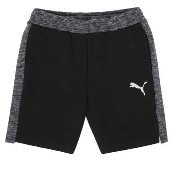 Oblečenie Chlapci Šortky a bermudy Puma EVOSTRIPE SHORTS Čierna