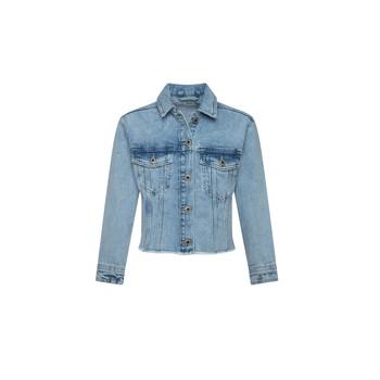Oblečenie Dievčatá Džínsové bundy Pepe jeans NICOLE JACKET Modrá