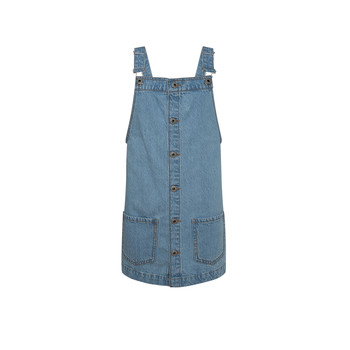 Oblečenie Dievčatá Krátke šaty Pepe jeans CHICAGO PINAFORE Modrá