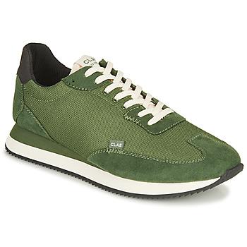 Topánky Muži Nízke tenisky Clae RUNYON Zelená