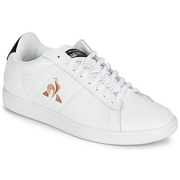 Topánky Ženy Nízke tenisky Le Coq Sportif COURTSET Biela / Čierna