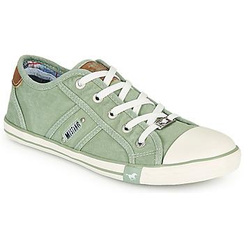 Topánky Ženy Nízke tenisky Mustang NATHALIA Zelená