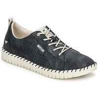 Topánky Ženy Nízke tenisky Mustang NINA Námornícka modrá