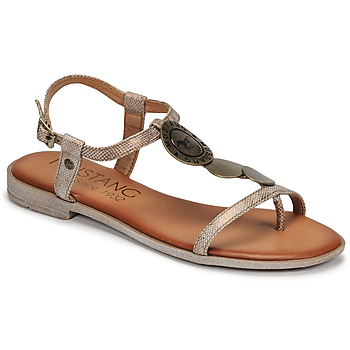Topánky Ženy Sandále Mustang ANITTA Bronzová