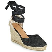 Topánky Ženy Sandále Castaner CARINA Čierna / Zlatá