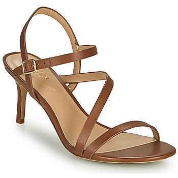 Topánky Ženy Sandále Lauren Ralph Lauren LANDYN Koňaková